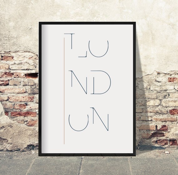 London-plakat