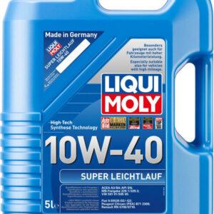 10W40 Motorolie Superletløb i 5l dunk Motorolie fra Liqui Moly