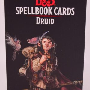 D&D 5th Ed. Druid Spellbook Cards