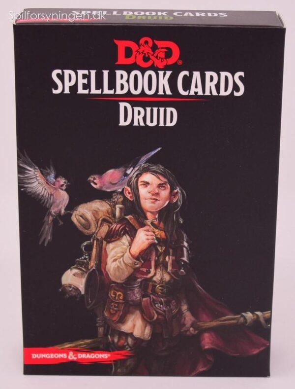 D&D 5th Ed. Druid Spellbook Cards