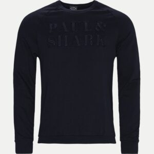 Paul & Shark Regular | Organic Cotton logo Crewneck Sweatshirt