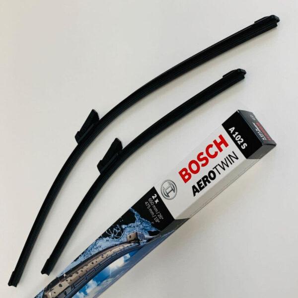 A102S Bosch Aerotwin Vinduesvisker / viskerblade sæt på 65+47