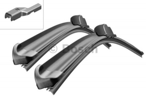 A825S Bosch Aerotwin Vinduesvisker / Viskerblade sæt på 60+60cm lange Bosch Vinduesvisker / Viskeblade & Bagrudeviskere