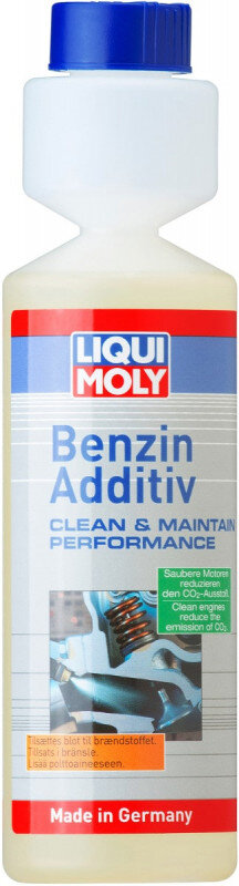Benzin Additiv med NEM dosering - Liqui moly