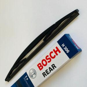 H306 Bosch Bagrudevisker 30cm til Nissan Micra (K13) m.fl. Bosch Vinduesvisker / Viskeblade & Bagrudeviskere
