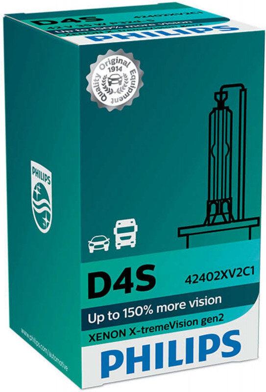 Philips D4S X-tremeVision gen2